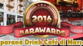 Marsala, selezionati il Juparanà e Roberto Tranchida per il Barawards 2016