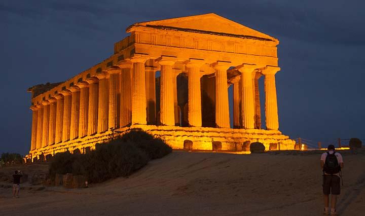 Corso di Archeologia Greca organizzato da SiciliAntica Tempio della Concordia Agrigento