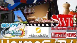 """Hermes TV e SKY 879 al Vinitaly al fianco delle Aziende per """"diffondere"""" il """"Born in Sicily"""""""