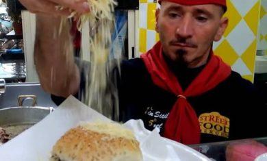 Certificato il panino con la milza di Nino 'u Ballerino