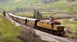 """In partenza, sui binari della Sicilia, i """"Treni storici del gusto"""", un viaggio fra sapori e saperi"""