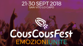 Cous Cous Fest 2018, venerdì si apre la 21^ rassegna a San Vito Lo Capo
