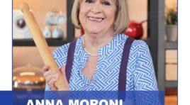 """La """"mamma"""" della cucina italiana Anna Moroni a Sciacca per un Cooking Show"""
