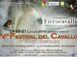 manifesto festival del cavallo rosolini