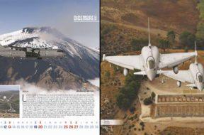 Una dedica alla Sicilia nel calendario dell'Aeronautica Militare 2020