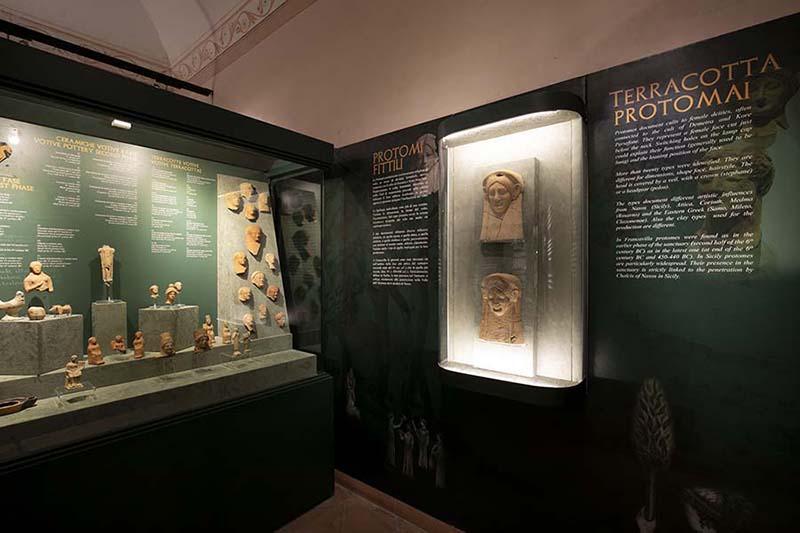 Inaugurato nuovo Museo Archeologico di Francavilla di Sicilia, l'ingresso sarà gratuito fino al 6 gennaio MAFRA 1, ph. Parrinello