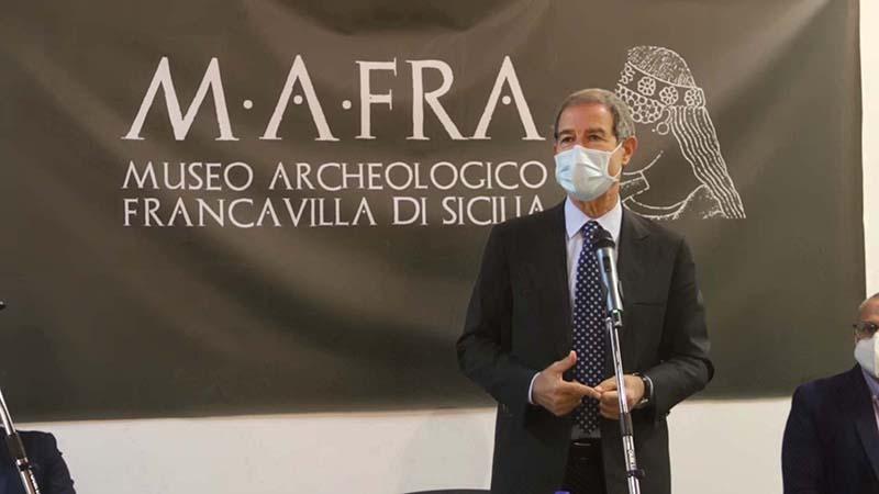 Inaugurato nuovo Museo Archeologico di Francavilla di Sicilia, l'ingresso sarà gratuito